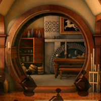 Play BigEscapeGames Big Hobbit House Escape