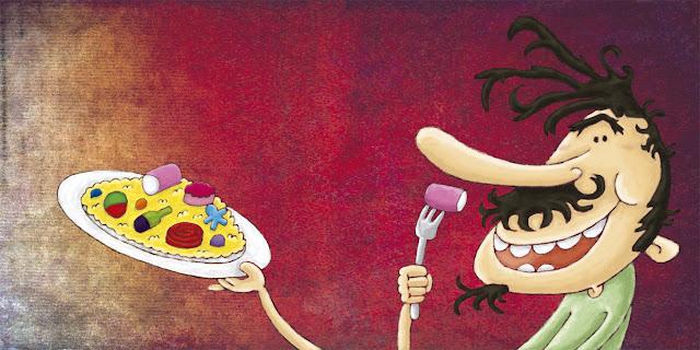 """Flondoroso-ilustración 1-ana sáez del arco-Flondoroso illustration 1"""