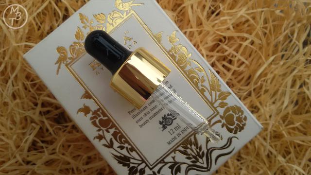 Kama Ayurveda KUMKUMADI Miraculous Beauty Fluid AYURVEDIC NIGHT SERUM Packaging