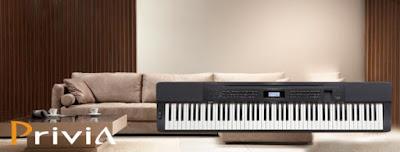 Tìm hiểu dòng đàn piano điện Privia của Casio