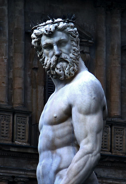 Blue-blooded Greek God