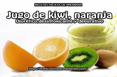 naranja, kiwi,miel