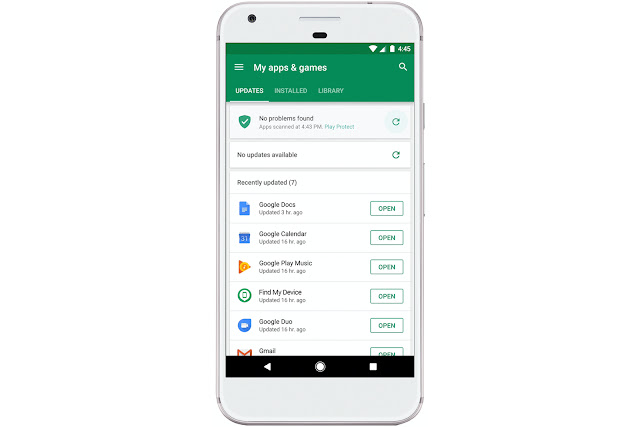Google Play Protected App