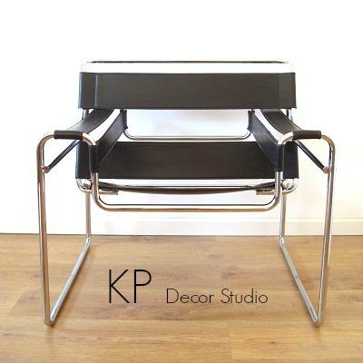 Venta de silla wassily en valencia. sillas icono, butacas para oficina o loft, diseño industrial