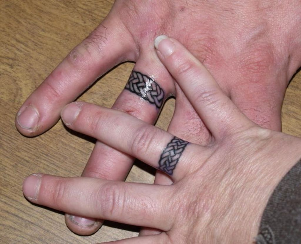 Mytattooland.com: Wedding rings tattoo ideas