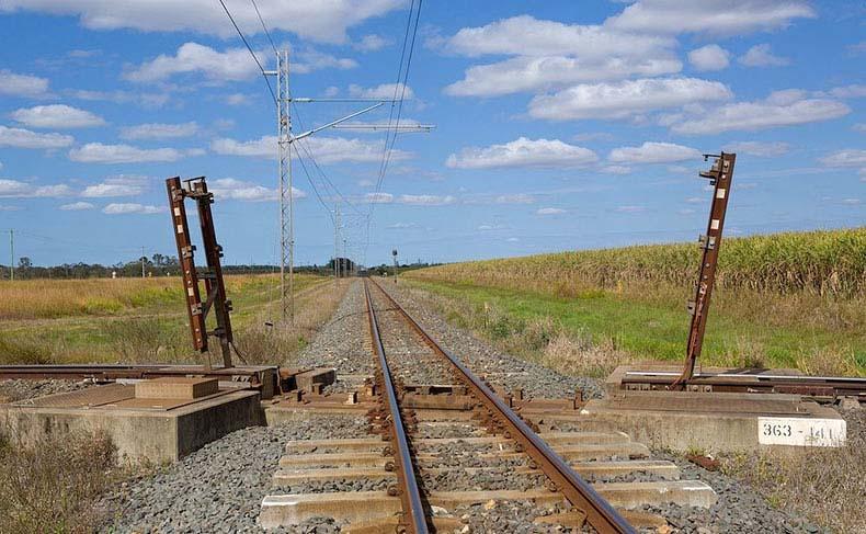 Cruces de trenes con vías levadizas | Australia