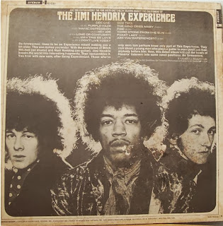 Jimi Hendrix Are You Experienced Back Cover
