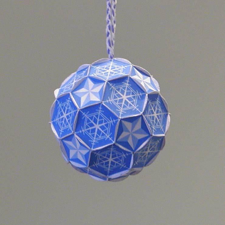 Origami n' Stuff 4 Kids: Christmas: Snowflake Ornament