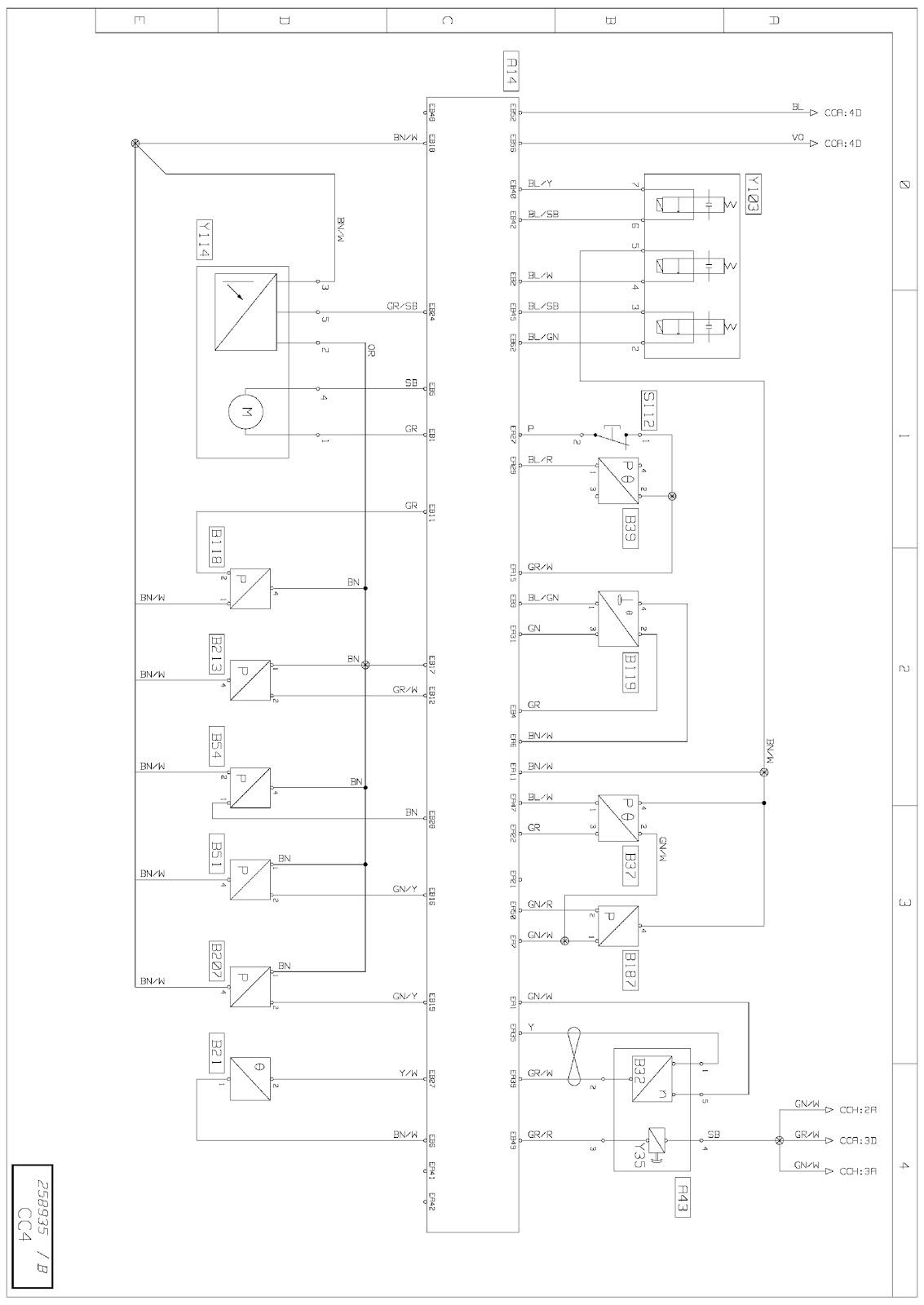 small resolution of a43 engine fan speed regulator unit b3d b21 combustion engine coolant circuit temperature sensor b3d b32 engine cooling fan speed sensor b3d
