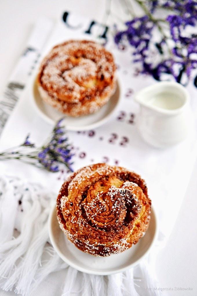 Morning buns czyli francuskie poranne bułeczki :)