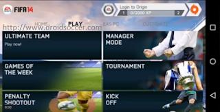 FIFA 14 v1.3.6 Mod 18 v2 by JOGRESS Apk + Obb Android