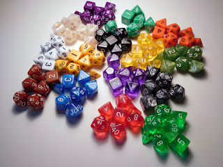 15 Seven-Piece Dice Sets from Easy Dice Roller Co