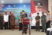 Bupati Kep.Selayar Buka Musrenbang Dalam Rangka Penyusunan RKPD 2018