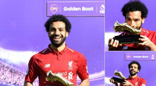 Mohamed Salah Raih Golden Boot Top Skor & Pemain Terbaik Liga Inggris 2017-2018