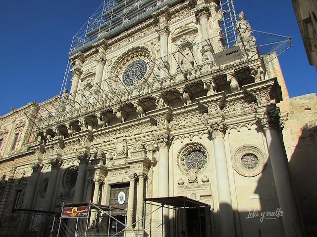 Lecce Basílica Santa Croce