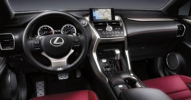 2018 Lexus NX Redesign