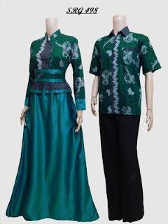 baju batik sarimbit bahan katun