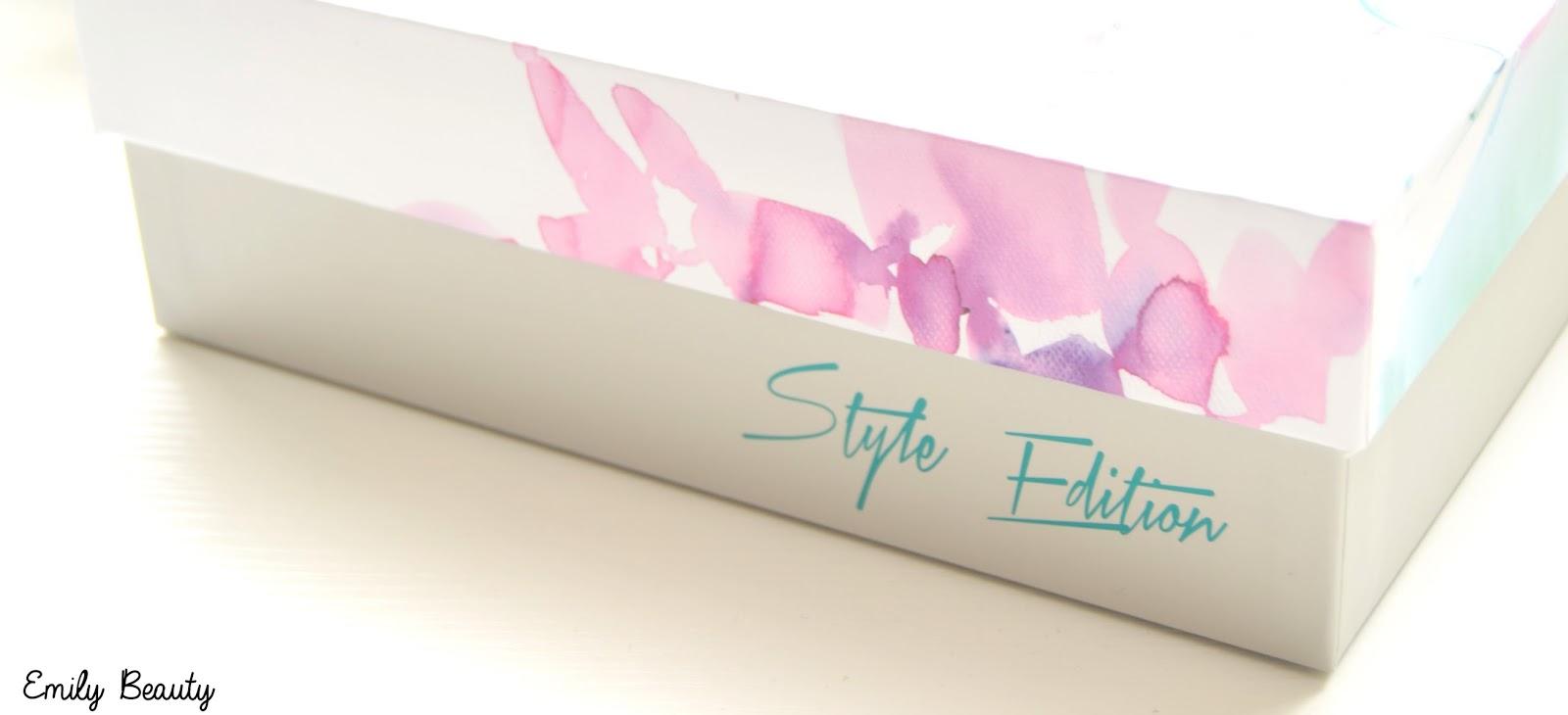 emily beauty  style edition de glossybox