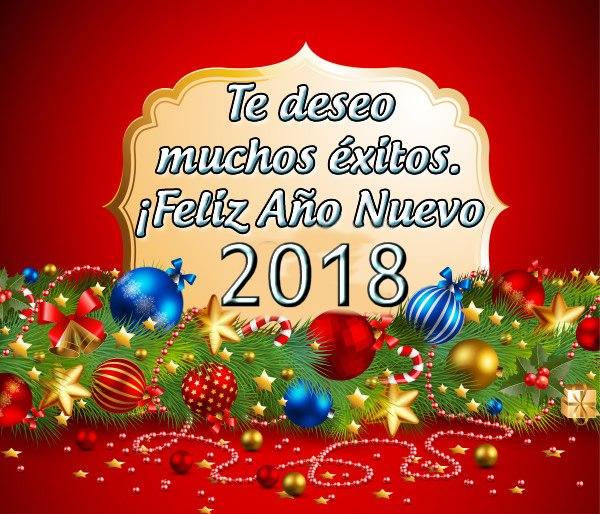 Feliz 2018 con nuestros mejores intenciones