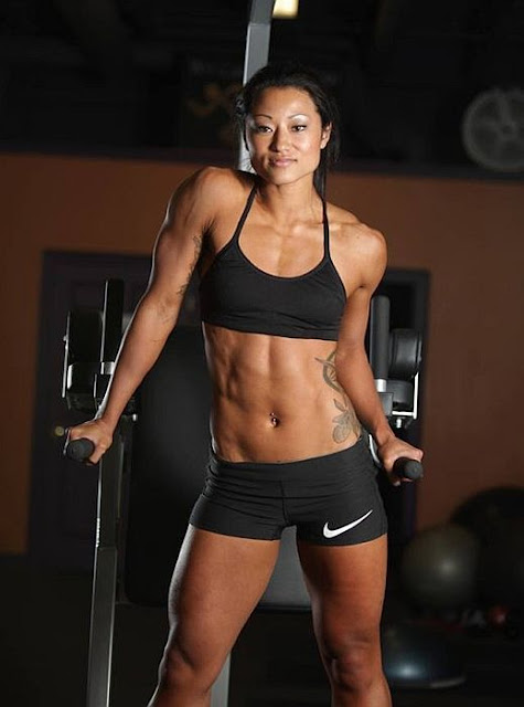 Kayla Dee Johnson - Female Fitness Model