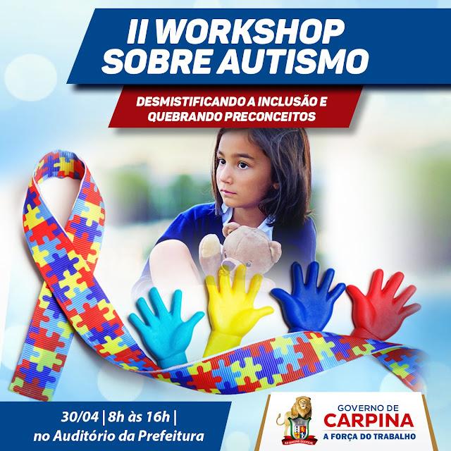 curso sobre autismo  em Carpina