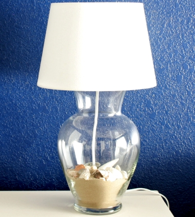 make a lamp from a vase