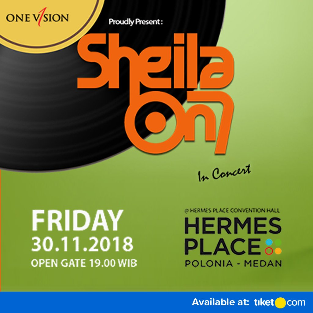 Tiket.com - Promo Tiket Konser Sheila On 7 Medan 2018 (30 November 2018)