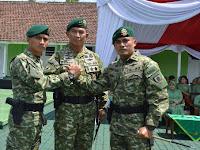Tongkat Komando Batalyon Bekang 2/2 Kostrad Resmi di Serah Terimakan