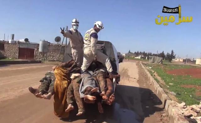 Resultado de imagen de white helmet al nusra