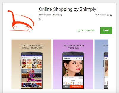 Shimply launches its first mobile app with patented pending technology of Virtual Trial Room
