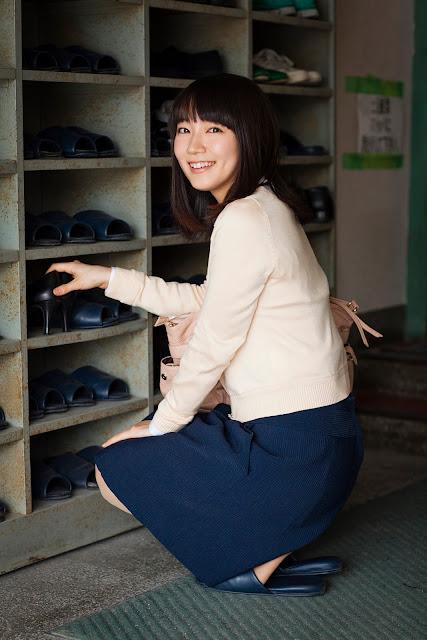 吉岡里帆 Riho Yoshioka Weekly Georgia No 78 Extra Pics 05