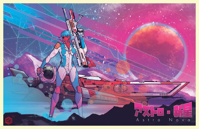 Astro Nova by Sean P Lenahan