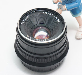 Lensa 7Artisans 25mm f1.8 for Fujifilm 2nd