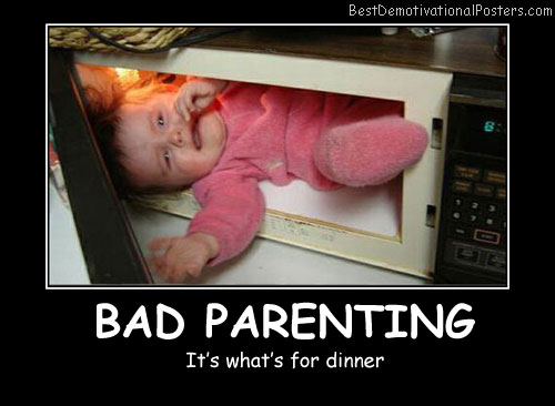 Baby in the microwave