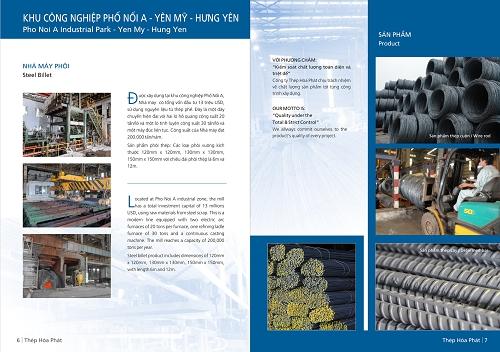 Catalogue Thép Hòa Phát