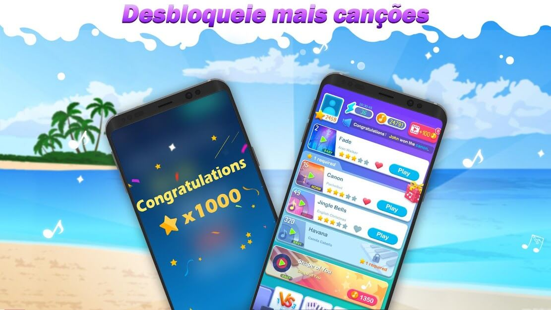 Dream Piano - Music Game v 1.72.0 apk mod DINHEIRO INFINITO