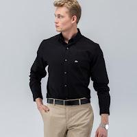 Siyah gömlek kombin