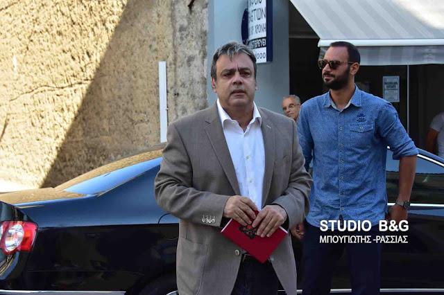 Στην Καλαμάτα Σπίρτζης και Βερναρδάκης για να επιθεωρήσουν την εξέλιξη των έργων στην ευρύτερη περιοχή