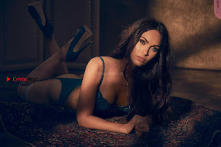 Megan Fox goes Bold in Lingerie for Frederickss of Hollywood September 2017