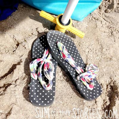 comfy flip flops