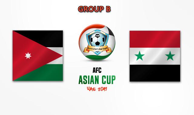 مباراة سوريا والاردن  10-01-2019 كأس أسيا