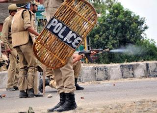 جموں و کشمیر : اننت ناگ ضلع کے شیرباغ علاقہ میں پولیس چیک پوسٹ پر گرینیڈ حملہ