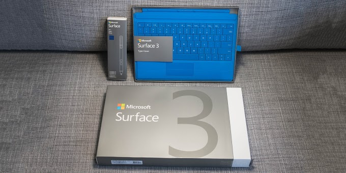 Microsoft Surface 3 unboxing and hands on