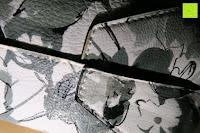 unten: Veevan Fraun Simpel Stil Tote Schultertaschen