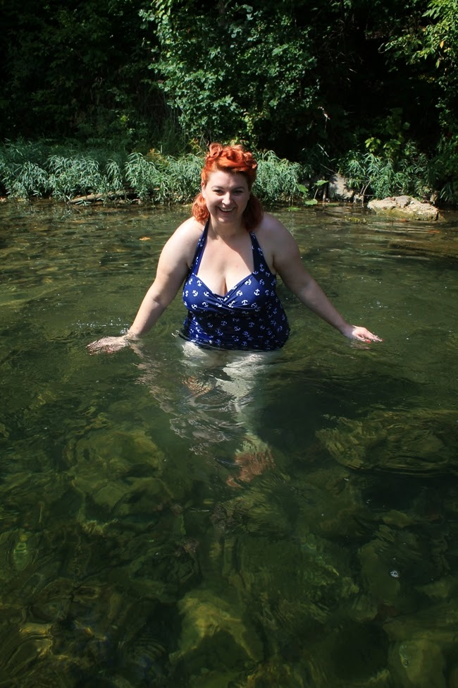 1950s retro plus size vintage swimwear