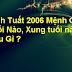 Tuổi Bính Tuất 2006 Mệnh Gì ? Hợp Tuổi Nào Hợp Màu Gì