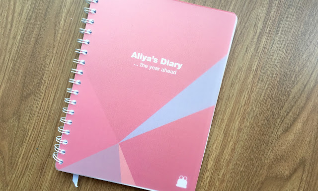 Toad Diaries Motivation to Organise My Life pink planner
