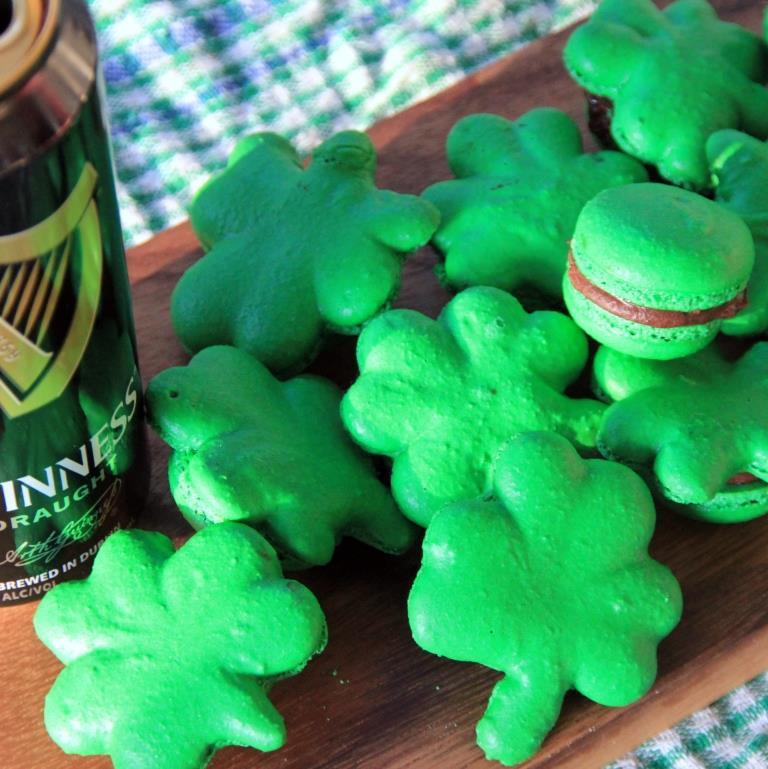 Guinness Macaron