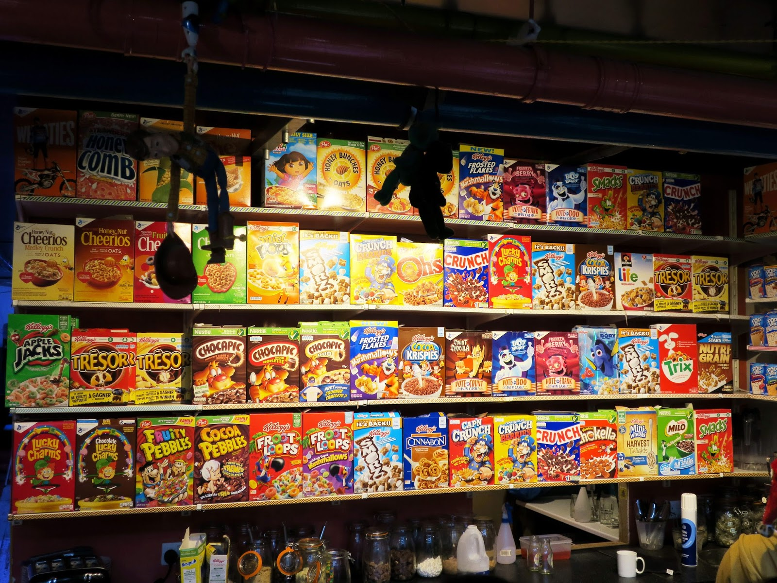 Camden Market Cereal bar