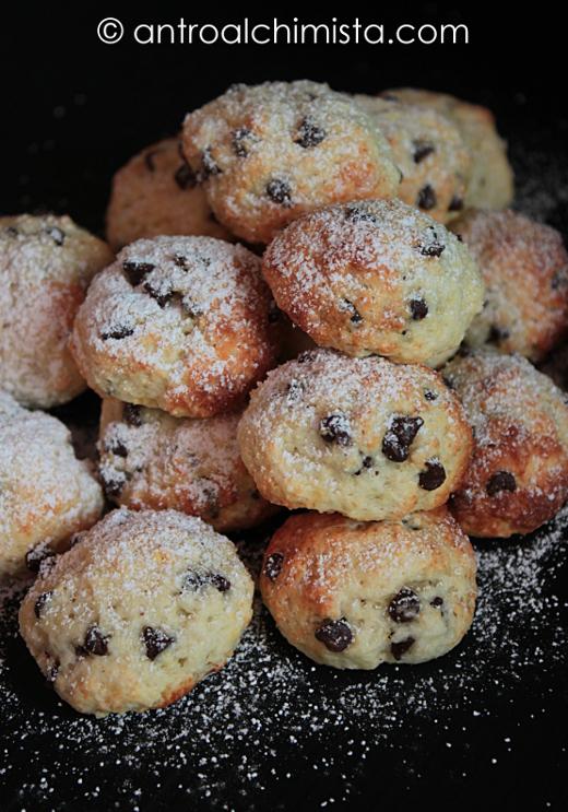 Biscotti di Kamut con Cocco, Quark e Gocce di Cioccolato